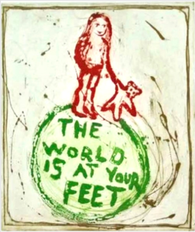 The world is at your feet