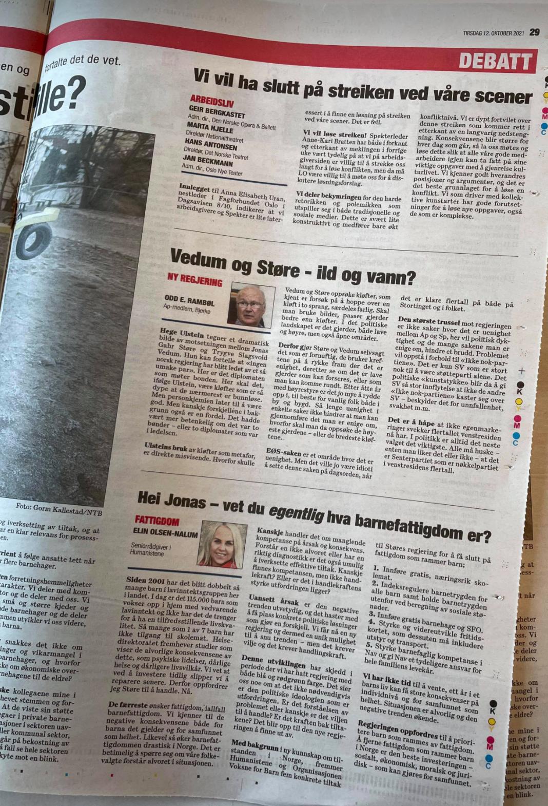 Kronikk av Elin Olsen-Nalum